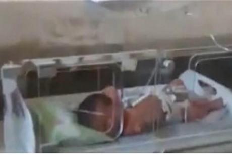 بالفيديو: مأساة تحل بأطفال خدّج في مستشفى بشمال سوريا