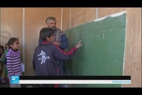 مدرسة تطوعية غير نظامية ل ٨٠ طفلا سوريا