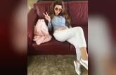 بالفيديو والصور - ميريام فارس تشعل انستغرام بإطلالاتها بعد الولادة