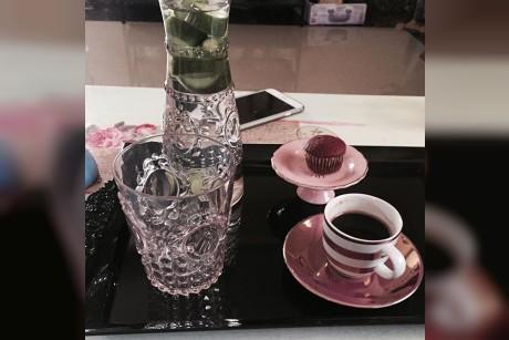 شامتي عملتلي أوّل فنجان قهوه بسنتي الجديده
