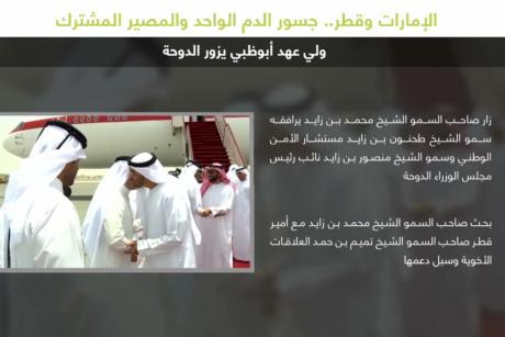 الإمارات وقطر.. جسور الدم الواحد والمصير المشترك