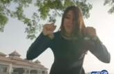 بالفيديو.. شاهد أسيل عمران تغني مع شاغي وانريكي اغليسياس
