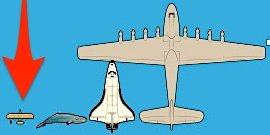 How the world's largest planes compare to the Wright brothers' first aircraft