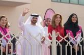 عبدالله بن سالم القاسمي يشهد انطلاق القافلة الوردية الثامنة