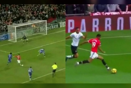 فيديو.. هدف راشفورد سجله رونالدو في 2007!