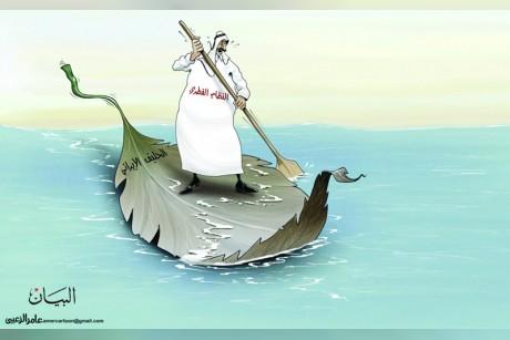 النظام القطري والحليف الإيراني