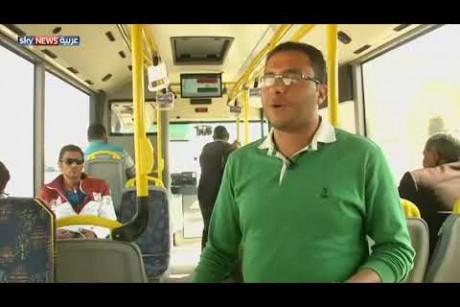 حافلات ذكية تجوب شوارع القاهرة لأول مرة