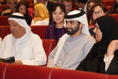منصور بن محمد يشهد حفل الذكرى الخامسة على تأسيس مؤسسة الجليلة