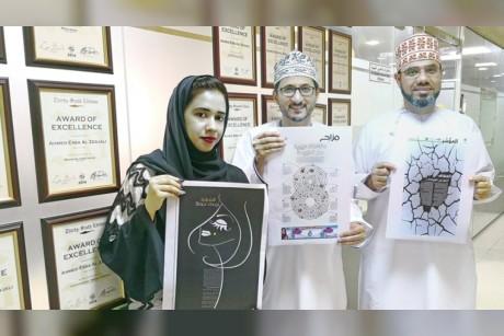 بالفيديو- لأول مره في السلطنة 3 مصممين عمانيين يحصدون جوائز عالمية
