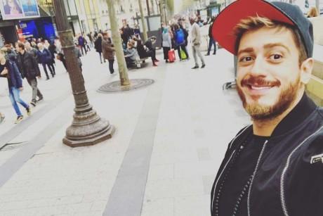شاهد| مفاجأة «سعد المجرد» لمعجبيه بعد عودته لوطنه
