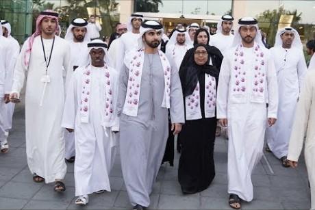 منصور بن محمد يشارك في احتفالية اليوم العالمي لمتلازمة داون