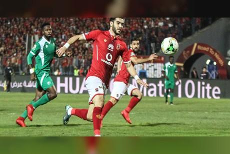 شاهد بالفيديو.. أهداف مباراة الأهلي اليوم ضد مونانا الجابوني