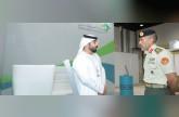 أحمد بن طحنون يزور معرض توظيف مجندي الخدمة الوطنية