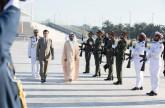 رئيس تركمانستان يزور واحة الكرامة