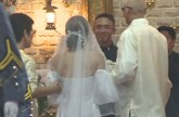 WATCH: PMA valedictorian marries college sweetheart after graduation rites