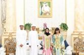 الشيخة فاطمة تستقبل أطفالاً مشاركين في خلوة الصغار