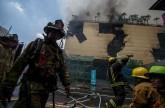 Manila Pavilion hotel wala umanong fire alarm, sabi ng nakaligtas na kustomer