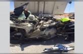 وفاة آسيوي وإصابة آخر بحادث تصادم شاحنتين برأس الخيمة