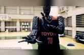 روبوت جديد من تويوتا يمكنه التفوق على لاعبي كرة السلة