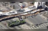 انهيار جسر للمشاة في فلوريدا الأمريكية