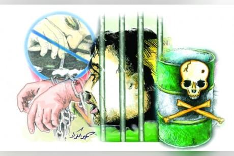 سنتان حبساً والإبعاد لآسيوي يروّج «الهيروين»