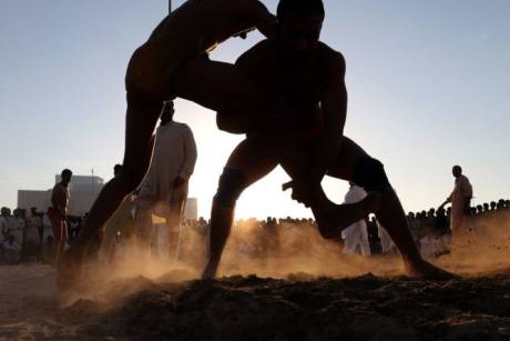 Kushti is a beloved pastime for South Asian dockworkers in Dubai
