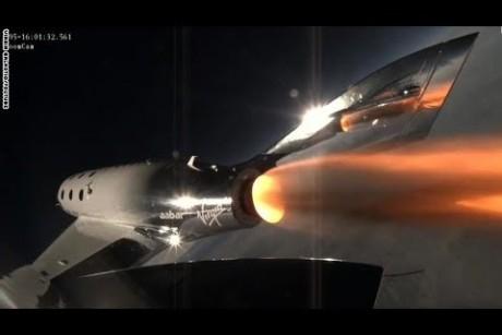 اختبار مركبة أسرع من الصوت لنقل السياح للفضاء