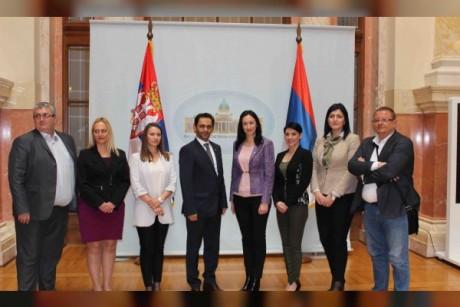 UAE, Serbia discuss boosting ties