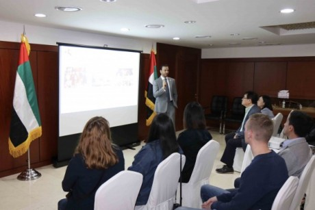 UAE Ambassador to South Korea gives introductory lecture to Hanyang University students