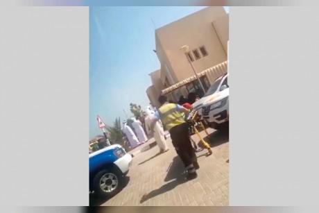 تسرب دخان يصيب 22 طالبة باختناقات في رأس الخيمة