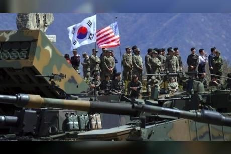 انطلاق تدريبات سنوية عسكرية بين أمريكا وكوريا الجنوبية الإثنين