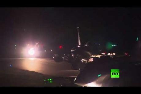 قصر الإليزيه ينشر صور مشاركة طائرات رافال في العدوان على سوريا