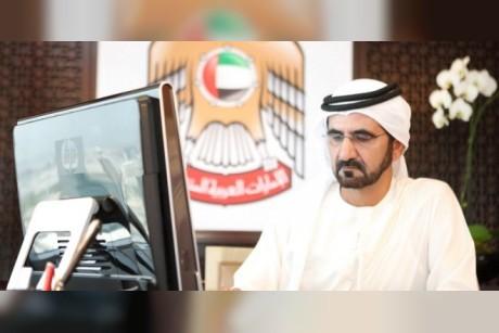 محمد بن راشد يعزز مكانته ضمن أكثر القادة متابعة على التواصل الاجتماعي