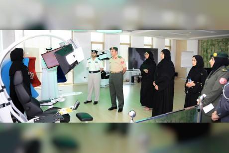 وفد من وزارة الدفاع يطلع على تجربة شرطة أبوظبي بمجال الابتكار واستشراف المستقبل