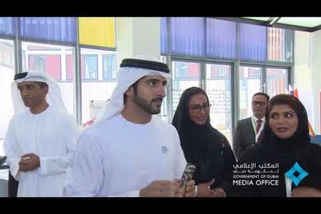 ولي عهد دبي يتفقد مختبرات الإبداع.. ويوجه بتسريع تحقيق مستهدفات خطة دبي 2021