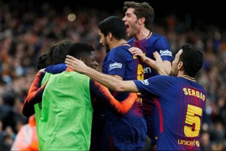متى يحين موعد إعلان برشلونة بطلاً لليغا؟