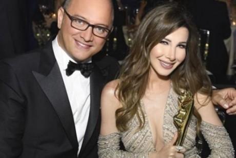 صور| نانسي عجرم تنشر صور استلامها جائزة أفضل مغنية لبنانية من الموريكس دور