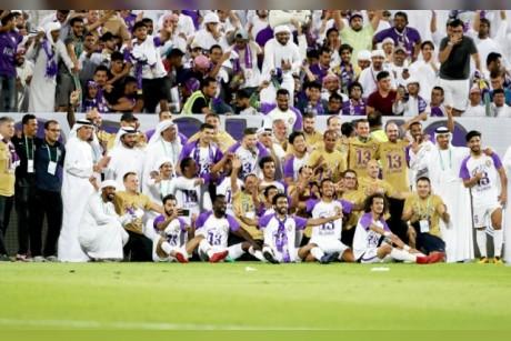 «الزعيم» بطل الإمارات للمرة 13 فـي تاريخه