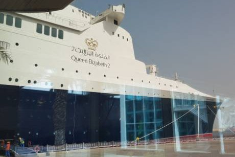 Queen Elizabeth 2: The UAE's new floating hotel opens