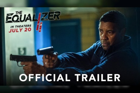 """فيديو  """"دينزل واشنطن"""" في العرض الدعائي الجديد لفيلم """"The Equalizer 2"""""""