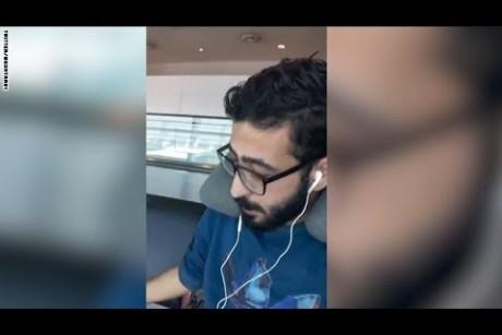يحلم بسرير ووجبة ساخنة.. سوري يعيش في المطار منذ 40 يوماً