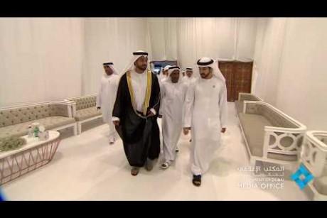 ولي عهد دبي يحضر حفل زفاف اقامه السيد شمس الدين محيي الدين