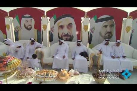 أحمد بن محمد يحضر حفل زفاف سالم سعيد علي بن سرود إلى كريمة المرحوم سعيد غدير محمد الكتبي