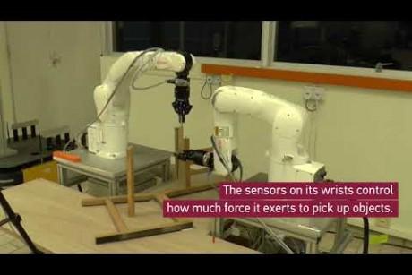 بالفيديو... روبوت جديد يقوم بتجميع أثاث «أيكيا»