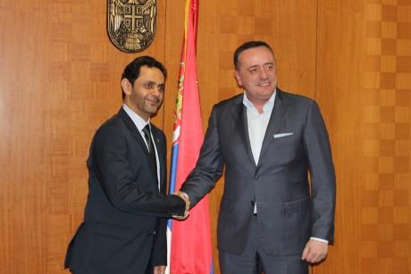 UAE Ambassador, Serbian Energy Minister discuss cooperation.