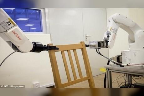 بالفيديو: شاهد كيف تصنع هذه الروبوتات الأثاث بسرعة فائقة