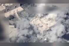 بالفيديو.. لحظة قصف طائرات عراقية لمواقع في سوريا