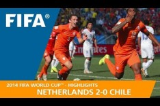 NETHERLANDS v CHILE (2:0) - 2014 FIFA World Cup™