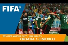 CROATIA v MEXICO (1:3) - 2014 FIFA World Cup™