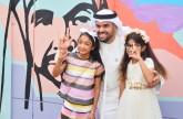 حسين الجسمي يزور أطفال أصحاب الهمم في مركز كلماتي للتواصل والتأهيل